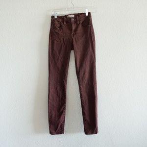 Madewell HIGH RISER SKINNY Colored Skinny Jeans 24